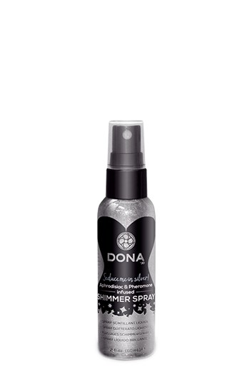 Dona shimmer spray (Zilver)