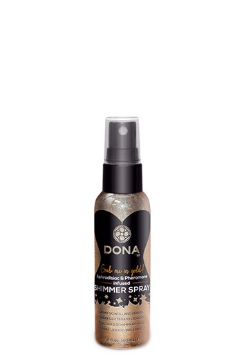 Dona shimmer spray (Goud)