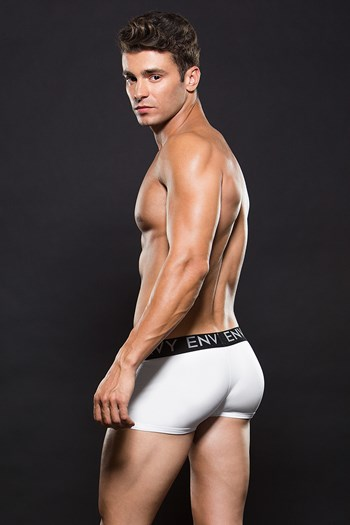 Witte boxer