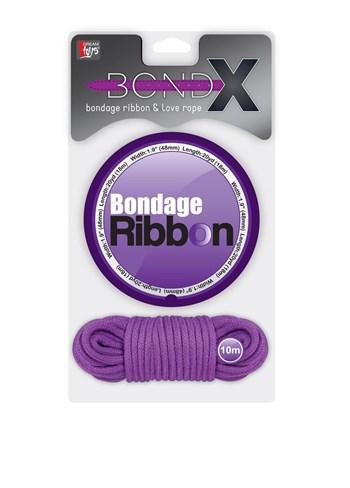 Bondage lint en touw (Paars)