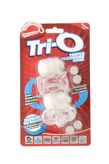 Tri-O cockring (Wit)