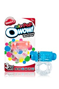 O wow cockring (color pop) (Blauw)
