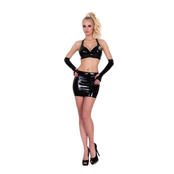Datex mini rokje met open achterkant