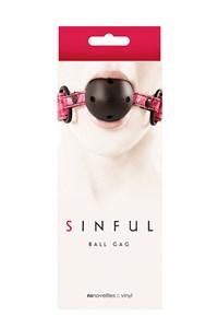 Sinful ball gag (Roze)
