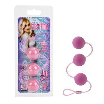 De Eerste Keer liefdesballen (Roze)