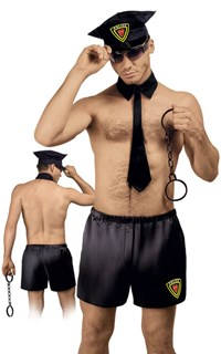 Politieagent kostuum
