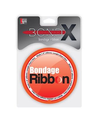 PVC bondage lint (Rood)