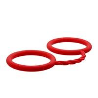 Siliconen handboeien (Rood)