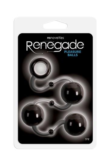 Renegade pleasure balls (Zwart)