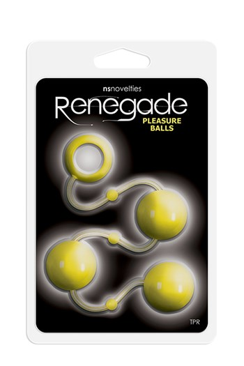 Renegade pleasure balls (Geel)