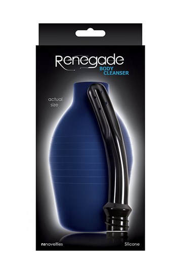 Renegade anale douche (Blauw)