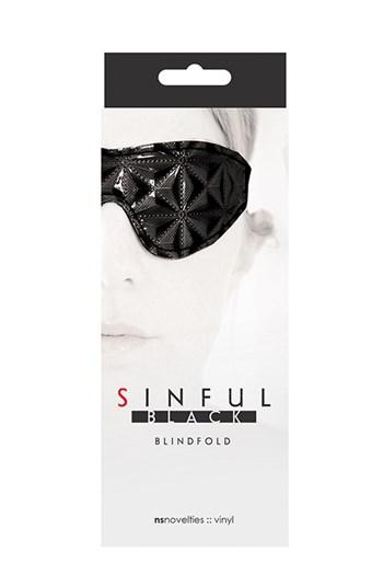 Sinful blinddoek (Zwart)