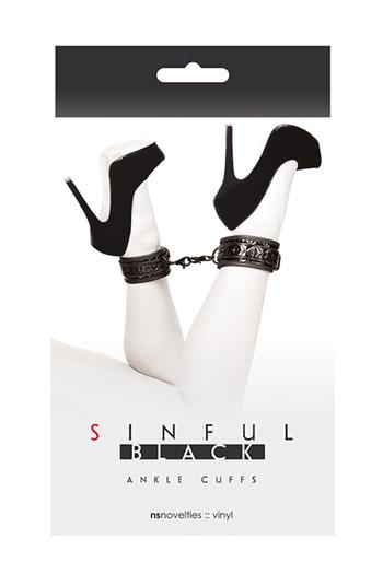 Sinful enkelboeien (Zwart)