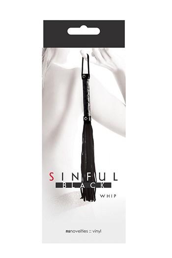 Sinful zweep (Zwart)