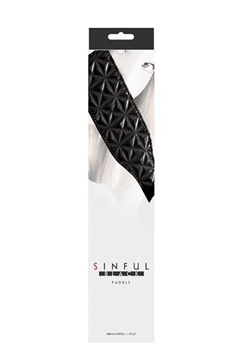 Sinful paddle (Zwart)