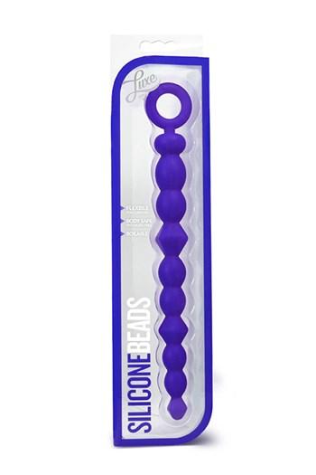 Luxe anaalkralen (Blauw)