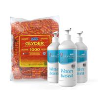 Safe glijmiddel en 1000 Durex Ambassador Glyder condooms