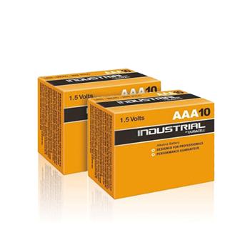 Duracell Industrial AAA Batterij 20st