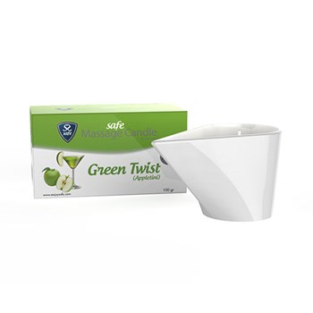 Safe Massagekaars Green Twist