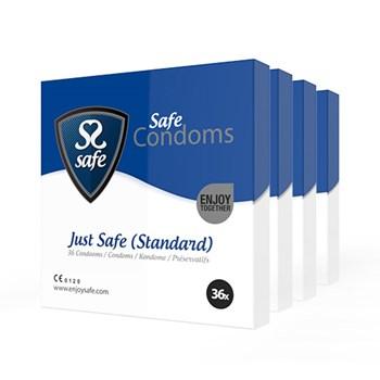 Just Safe Standaard Condooms 144st