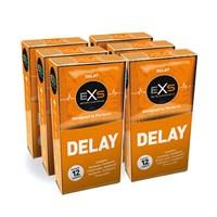 EXS Ribbels en Nopjes Delay Condooms (72st)
