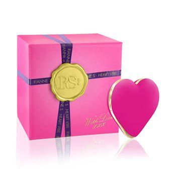 Heart Vibe mini vibrator (Roze)