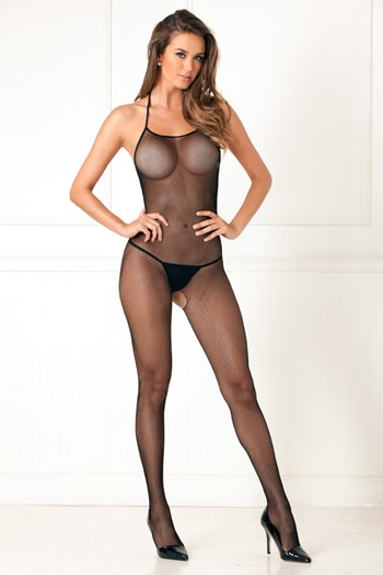 Visnet halter bodystocking (One Size)