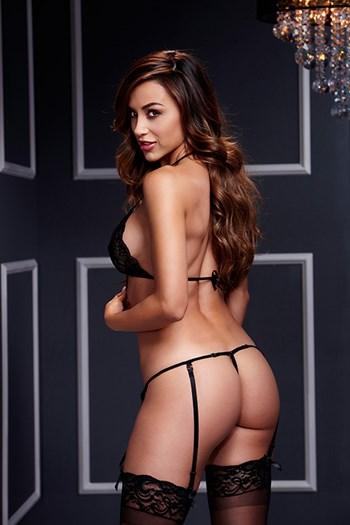 2-delig kanten lingerie setje