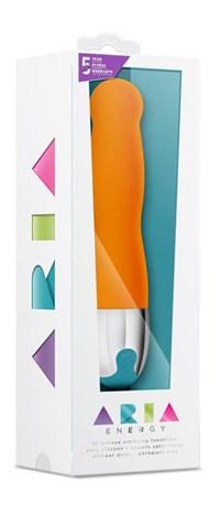 Energy klassieke vibrator (Oranje)
