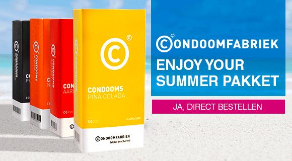 Enjoy your summer pakket big 40 condooms