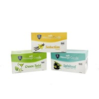 Safe Massage Candle Trio Set
