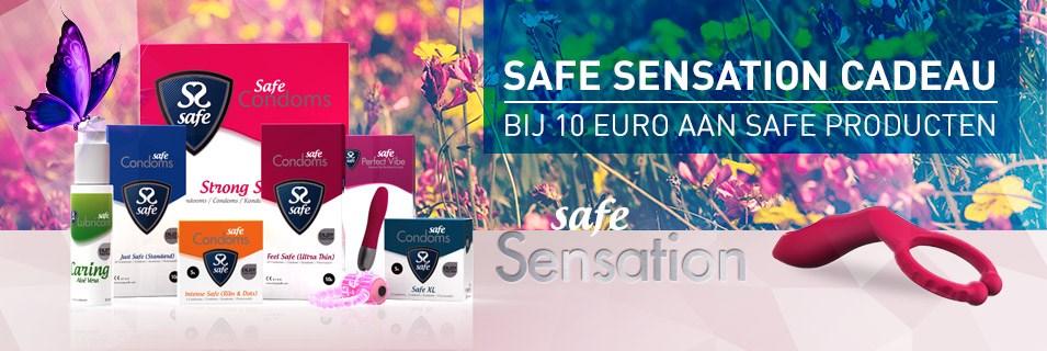 Safe Sensation - Designed to enjoy together - Kado bij 10 euro aan Safe