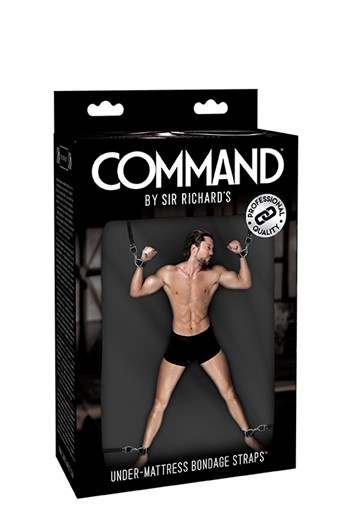 Sr Command bed bondage set
