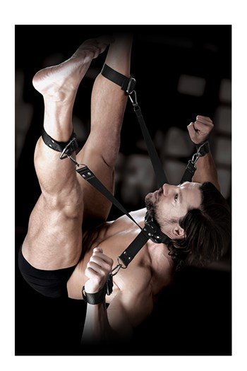 Sr Command hogtie & boeien set