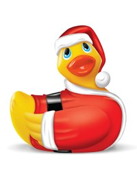 I Rub My Duckie massager kerst