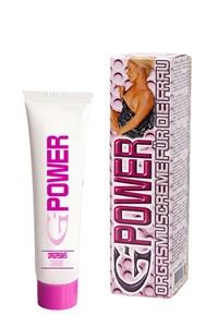 G Power orgasme crème
