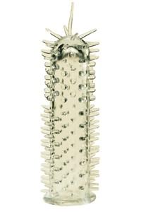 Sensasoft Penis Sleeve (Doorzichtig wit)