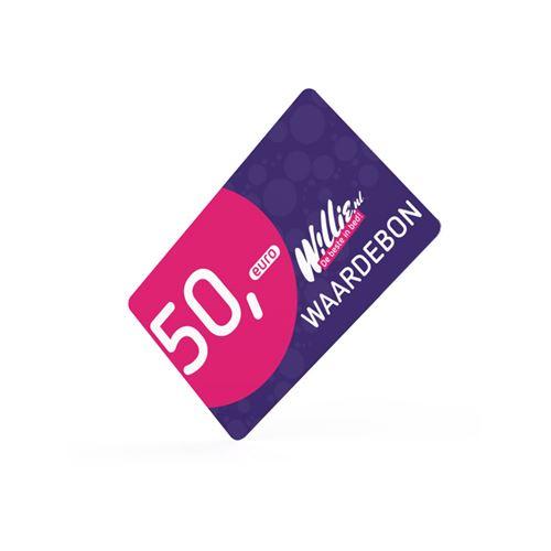 Willie cadeaukaart 50