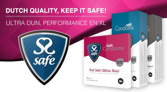 Keep it Safe - Alle soorten condooms