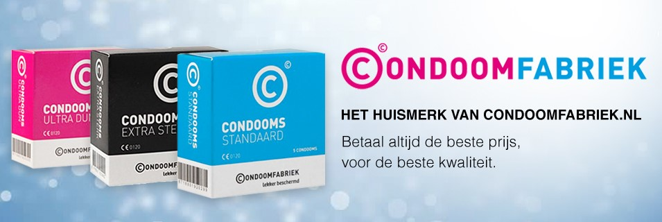 Huismerk Condooms Condoomfabriek