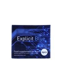 Explicit Blue erectiepil 4 stuks