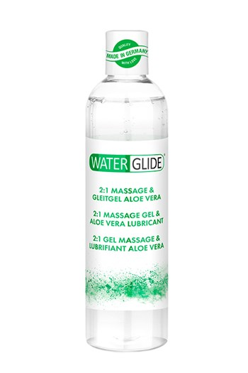 Waterglide 2-in-1 massagegel