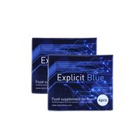 Explicit Blue erectiepil 8 stuks