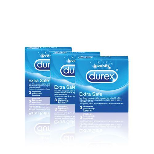 Durex Extra Safe Condooms - 9 stuks