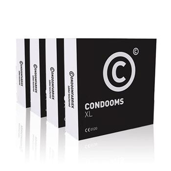 Condoomfabriek XL Condooms 144st