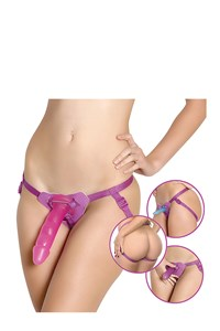 Eves strap-on play set