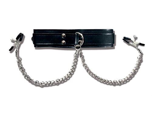 Halsband met tepelkl