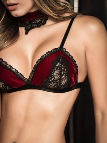 Mapale 3-Delige lingerieset open achterkant