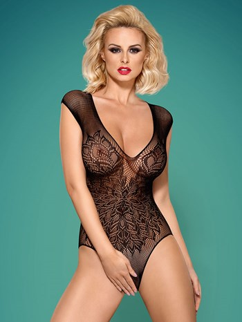 Obsessive cut-out bodysuit
