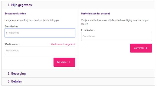 Betalen op willie.nl